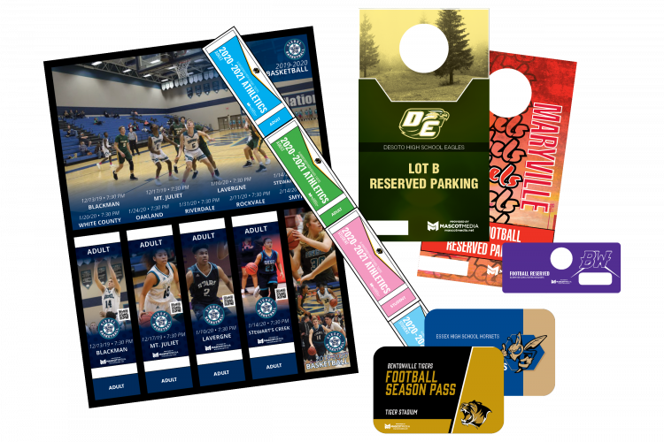 Ticket collages